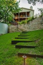 That is How to Make Garden Steps on a Slope 33